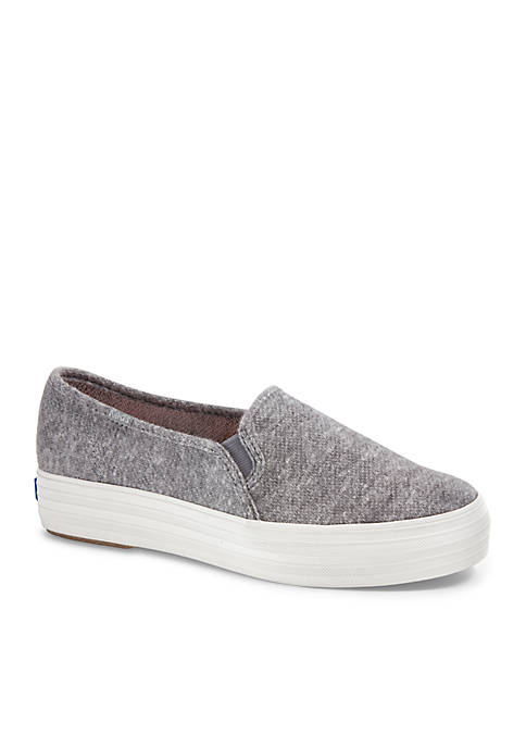 Keds Triple Decker Sweatshirt Slip-On Shoes