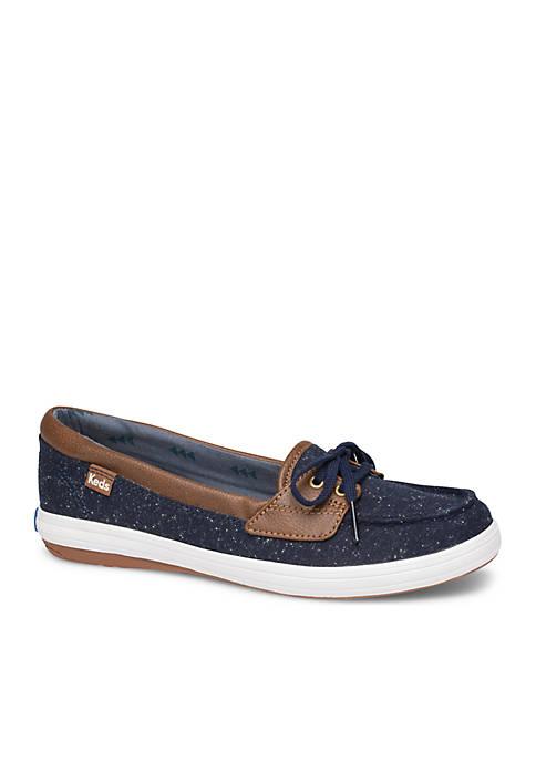 Keds Glitter Slip-On Boat Shoe