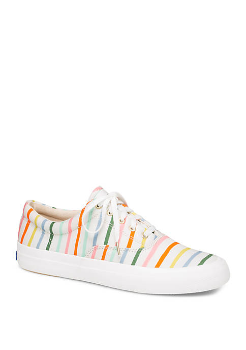 Keds Anchor Rifle Paper Co Happy Stripe Sneakers