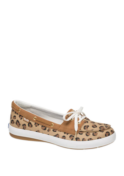 Charter Leopard Boat Shoes