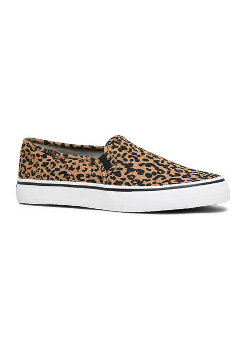 Keds Womens Double Decker Cheetah Sneakers