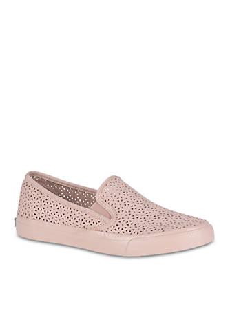 Sperry® Seaside Nautical Perforated Sneakers tKOKyo