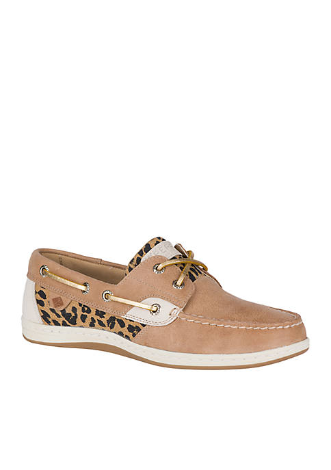 Sperry® Koifish Cheetah Boat Shoes