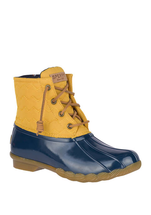 Sperry® Saltwater Chevron Quilt Duck Boots