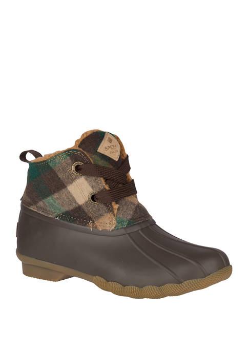 Saltwater 2 Eye Plaid Duck Boots