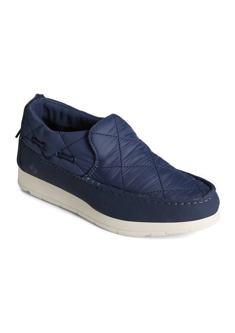 Moc-Sider Quilted Nylon Sneakers