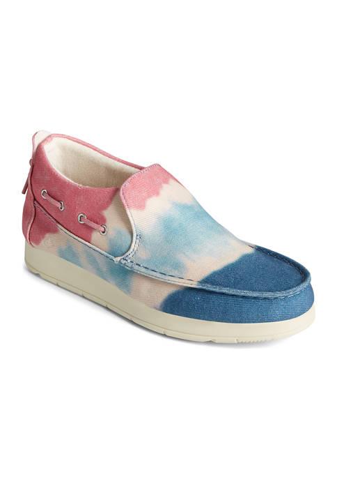 Moc-Sider Tie Dye Sneakers