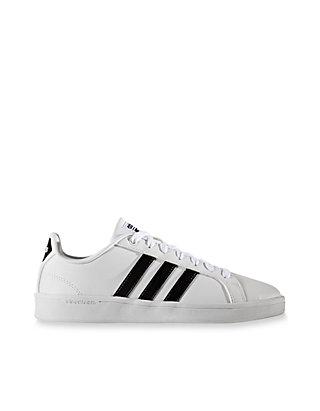 promo code 9b601 ee0a1 adidas Womens Cloudfoam Advantage Stripe Sneaker ...