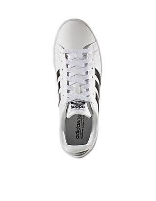 online store 66024 05fbc ... adidas Womens Cloudfoam Advantage Stripe Sneaker ...