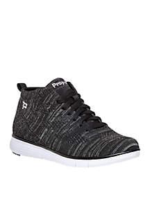 TravelFit Hi-Top Athleisure Sneaker