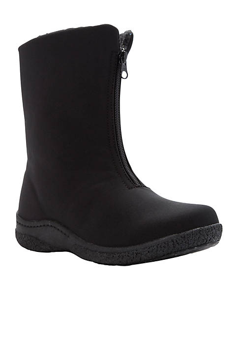 Madi Mid Zip Boot - Available in Extended Sizes & Widths