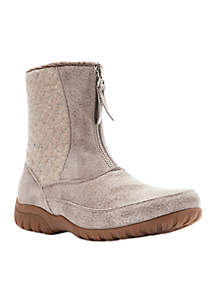 Delaney Mid Zip Boot - Available in Extended Sizes And Widths