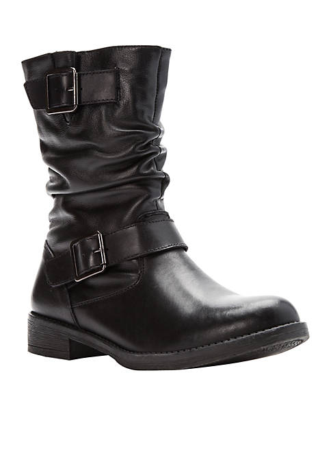 Tatum Slouch Boot - Available in Extended Sizes And Widths
