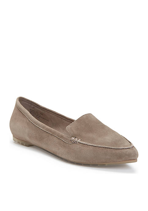 Audra Suede Flat