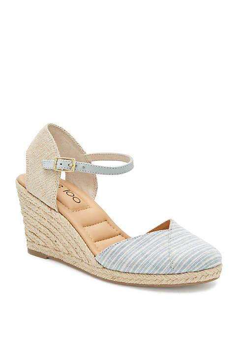 me Too Brenna Wedge Espadrille Sandals