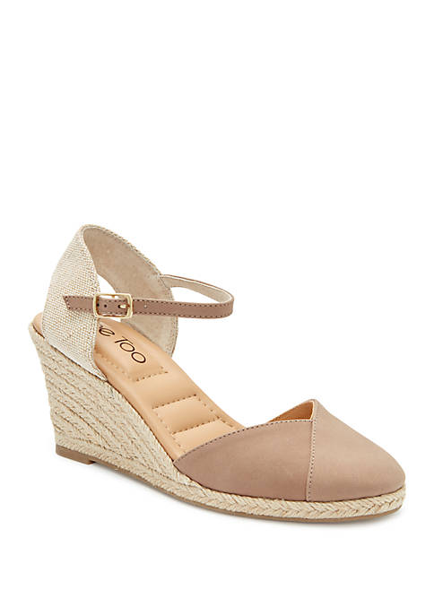 Brenna Wedge Espadrille Sandals