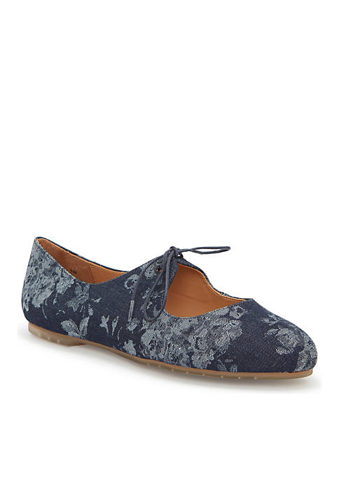 Cacey Thin Bow MaryJane Flat