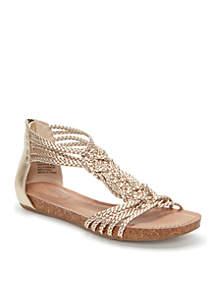 Nakira Braided Woven Sandal