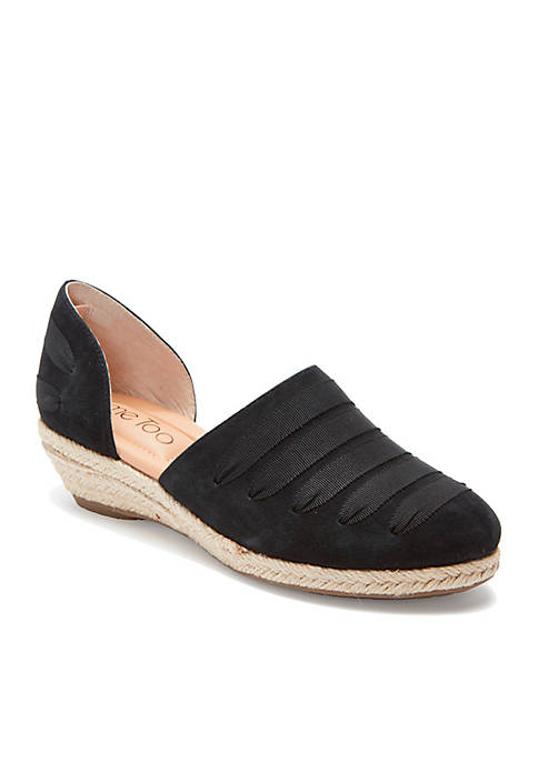 me Too Netta Two-Piece Ribbon Espadrille