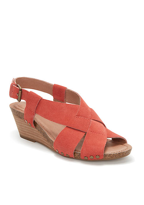 Tarin Criss Cross Strap Wedge