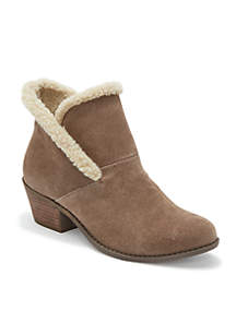 Zanna Shearling Collar Ankle Booties