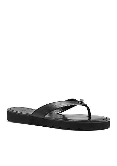 d0152bac4b11 COACH Shelly Flip Flop Sandals