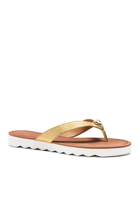 0d0cae30c6e9 COACH Shelly Flip Flop Sandal