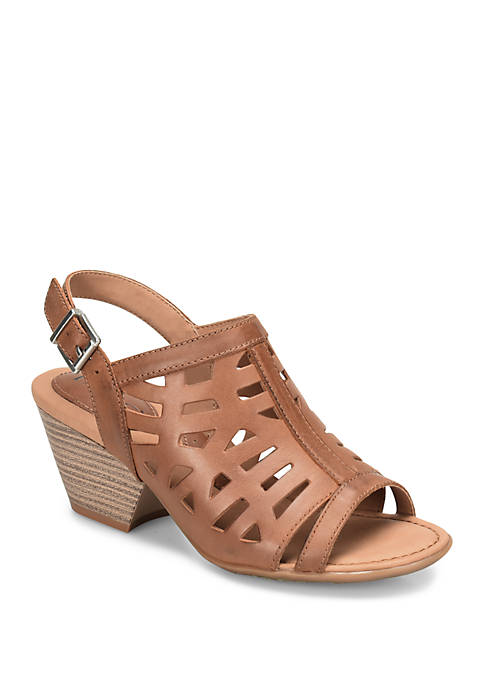 b.ø.c. Dixie Tan Slingback Sandals