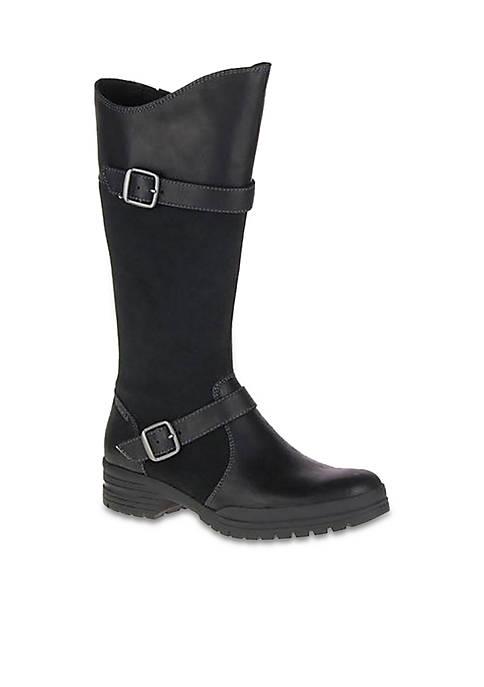 Merrell City Leaf Tall Black Boots
