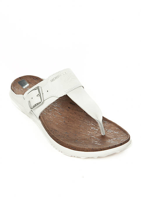 Merrell Around Town Post Print Sandals