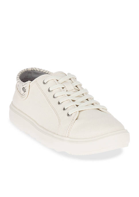 Merrell Around Town City Lace Canvas Whitecap Sneaker