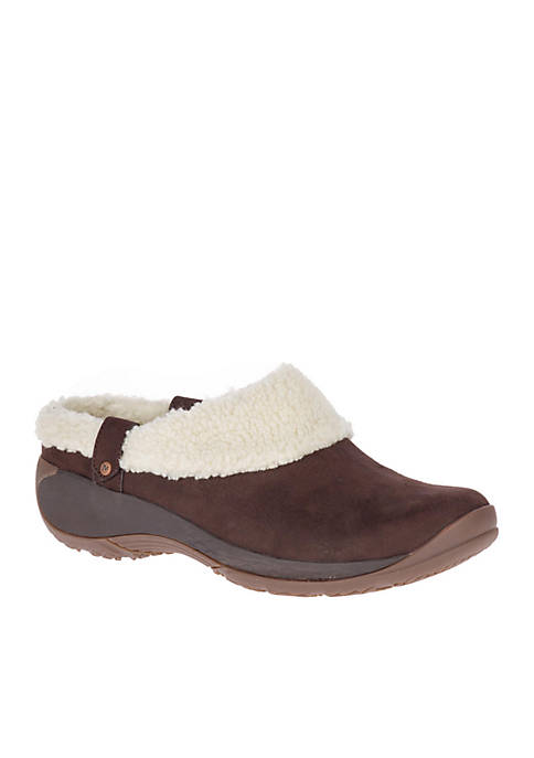 Brown Encore Ice Slide Slip-On Shoe