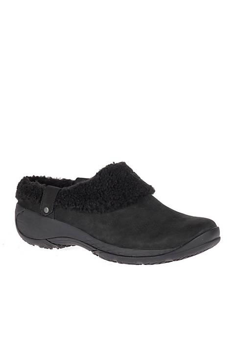 Black Encore Ice Slide Slip-On Shoe