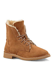 Quincy Laceup Bootie