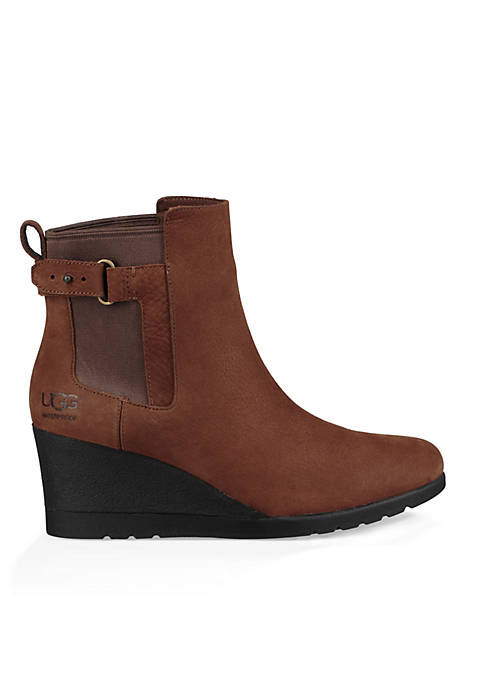 Indra Wedge Booties