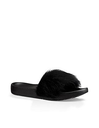 75df0cc8629 Royale Shearling Pool Slide Sandals