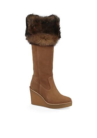 UGG® Australia Valberf Tall Fur Cuff Boot Jlcpo