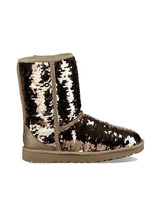 77c62953c9b Classic Short Sequin Boots