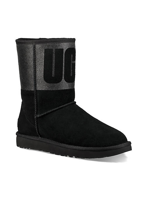 UGG® Classic Short Sparkle Booties