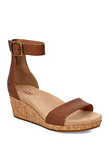 3dd57c1902e5 ... UGG® Zoe II Wedge Sandals