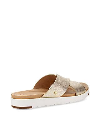 6a93475ff2b6 ... UGG® Kari Cross Band Slide Sandals ...