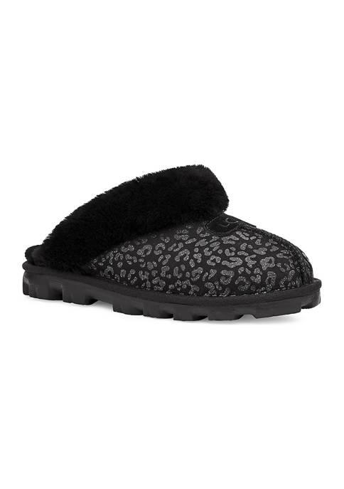 Coquette Snow Leopard Slipper Flats