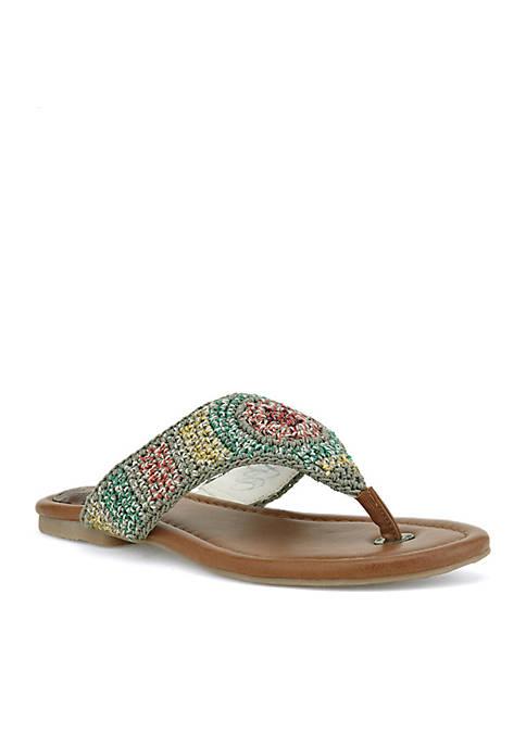 The Sak Shana Crochet Sandal Skkys8MySU