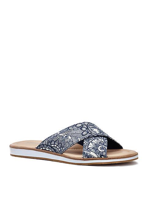 Sakroots Calypso Platform Sandal