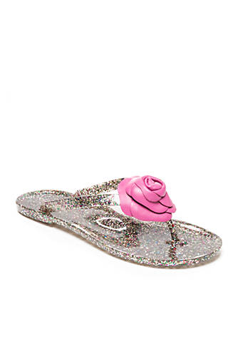 cheap sale enjoy buy cheap how much Kate Spade New York Glitter Jelly Sandals CYNwk
