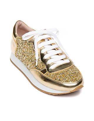 b22a89c2f13f kate spade new york® Felicia Glitter Trainer Sneaker