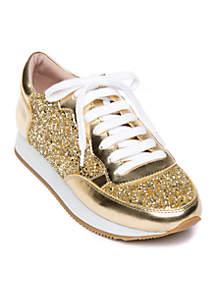 kate spade new york® Felicia Glitter Trainer Sneaker