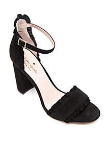 Odele Ruffle Dress Sandals