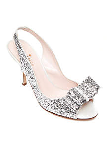 Charm Glitter Sandal - Available in Extended Sizes