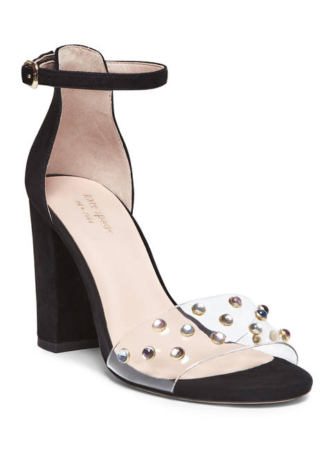 kate spade new york® Marci Clear Heel Dress